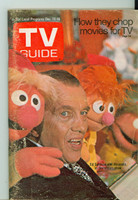 1970 TV Guide Dec 12 Ed Sullivan and the Muppets Michigan State edition Very Good to Excellent - No Mailing Label  [Scuffing along binding, contents fine]