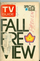 1971 TV Guide September 11 Fall Preview St. Louis edition Very Good to Excellent  [Period writing on cover; lt toning, contents fine]