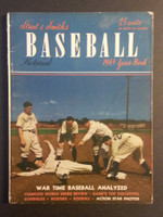 1945 Street and Smith BB Yearbook NY Giants Very Good to Excellent [Wear on cover, binding partly split - contents fine]