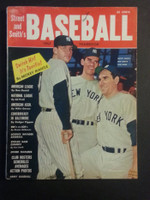 1957 Street and Smith BB Yearbook Mantle - Berra - Larsen Good to Very Good [Light wear on cover, contents fine]