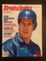 1989 Street and Smith BB Yearbook Kevin McReynolds Near-Mint to Mint