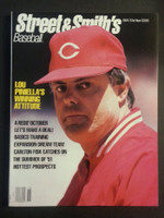 1991 Street and Smith BB Yearbook Lou Piniella Near-Mint to Mint