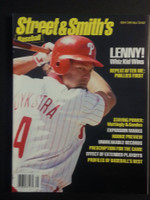 1994 Street and Smith BB Yearbook Lenny Dykstra Near-Mint to Mint