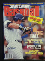 1996 Street and Smith BB Yearbook Paul O'Neill Near-Mint to Mint