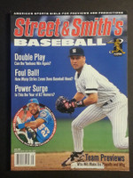 1997 Street and Smith BB Yearbook Derek Jeter Near-Mint to Mint