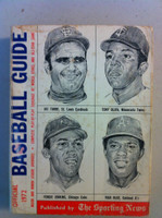 1972 TSN Official Baseball Guide (610 pg) - Cover: Torre, Oliva, Jenkins, Blue Very Good [Heavy wear on cover, contents fine]