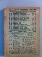1924 Spalding Baseball Guide  Fair to Poor [No front cover, back cover attached]