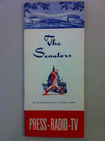 1963 Washington Senators Media Guide (30 pg) Near-Mint [Very clean]