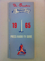 1965 Washington Senators Media Guide (50 pg) Near-Mint [Sl wear on cover, contents like new]
