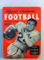 1957 Official Collegiate Football Record Book (192 pg) (Walt Fondren, Texas on cover) Good to Very Good [Soiling on cover, spine, contents fine]