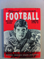 1971 Official Collegiate Football Record Book (160 pg) (Ed Marinaro, Cornell on cover) Excellent [Very clean, inside and out]