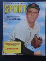 1955 Sport Magazine July New Garver Good to Very Good