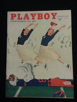 Playboy Magazine October 1956