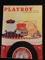 Playboy Magazine April 1957