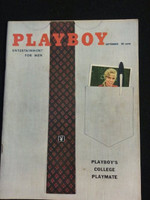 Playboy Magazine September 1958