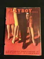 Playboy Magazine October 1961