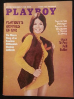 Playboy Magazine October 1972 Bunnies of 1972