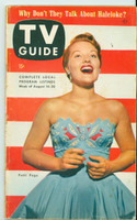 1953 TV Guide Aug 14 Patti Page NY Metro edition Very Good - No Mailing Label  [Wear on cover, contents fine; address stamped on reverse]