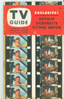 1953 TV Guide Oct 23 Arthur Godfrey Philadelphia edition Very Good to Excellent - No Mailing Label  [Heavy toning along binding; contents fine]