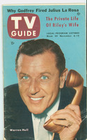 1953 TV Guide Nov 6 Warren Hull of Strike It Rich Pittsburgh edition Very Good  [Lt wear, sl moisture on covers; contents fine]