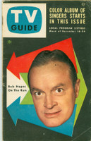 1953 TV Guide Dec 18 Bob Hope Washington-Baltimore edition Very Good to Excellent - No Mailing Label  [Wear and creasing on cover; staple rust, contents fine]
