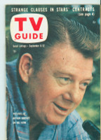 1958 TV Guide Sep 6 Arthur Godfrey Pittsburgh edition Very Good to Excellent - No Mailing Label  [Lt wear on cover, staple rust; ow clean]