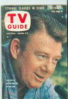 1958 TV Guide Sep 6 Arthur Godfrey Illinois edition Excellent - No Mailing Label  [Lt wear and scuffing on cover; contents fine]