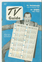 1951 TV Guide January 6 Milton Berle (32 pgs) NY Metro edition Very Good to Excellent  [Wear and scuffing on both covers, contents fine; staple rust]