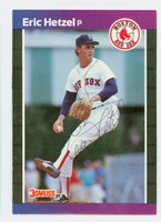 Eric Hetzel AUTOGRAPH 1989 Donruss Red Sox 