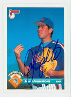 John Johnstone AUTOGRAPH 1993 Donruss Marlins 