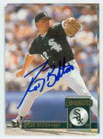 Tom Bolton AUTOGRAPH 1994 Donruss White Sox 