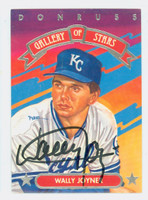 Wally Joyner AUTOGRAPH 1992 Donruss Triple Play Gallery of Stars Royals 