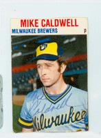 Mike Caldwell AUTOGRAPH Hostess Brewers 
