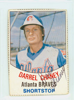 Darrel Chaney AUTOGRAPH Hostess Braves 