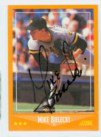 Mike Bielecki AUTOGRAPH 1988 Score Pirates 