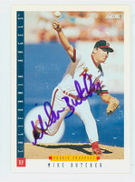 Mike Butcher AUTOGRAPH 1993 Score Angels 