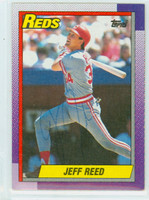 Jeff Reed AUTOGRAPH 1990 Topps Reds 
