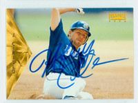 Jeff Cirillo AUTOGRAPH 1996 Pinnacle Brewers 