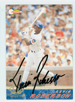 Kevin Roberson AUTOGRAPH 1994 Pacific Cubs 