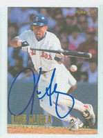 Luis Alicea AUTOGRAPH 1996 Fleer Red Sox 
