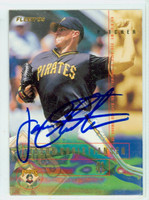 Jason Christiansen AUTOGRAPH 1995 Fleer Pirates 