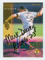 Mark Dewey AUTOGRAPH 1995 Fleer Pirates 