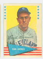 Earl Averill AUTOGRAPH d.83 1961 Fleer Greats #5 Indians 