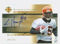 Chris Henry AUTOGRAPH d.09 Upper Deck Ultimate Rookie Signatures Bengals CERTIFIED 