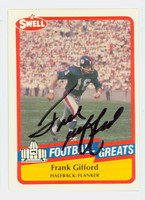 Frank Gifford AUTOGRAPH d.15 1989 Swell Giants HOF '77 