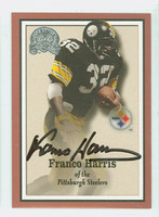 Franco Harris AUTOGRAPH Fleer Greats of the Game Steelers HOF '90 