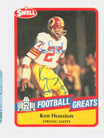 Ken Houston AUTOGRAPH 1989 Swell Redskins HOF '86 