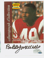 Bobby Mitchell AUTOGRAPH Fleer Greats of the Game Redskins HOF '83 CERTIFIED 