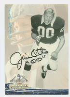 Jim Otto AUTOGRAPH 1994 Ted Williams card Raiders HOF '80 