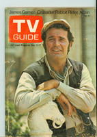 1971 TV Guide December 11 James Garner of Nichols Central California edition Very Good to Excellent - No Mailing Label  [Wear and creasing on cover, contents fine]